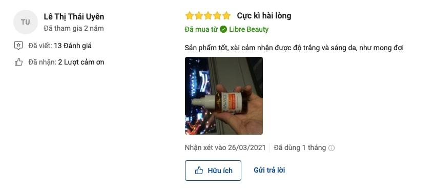 review balance vitamin c