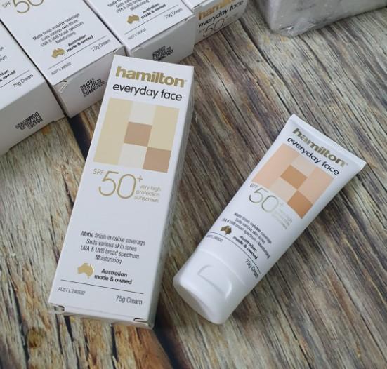 Hamilton EveryDay Face Cream SPF 50+