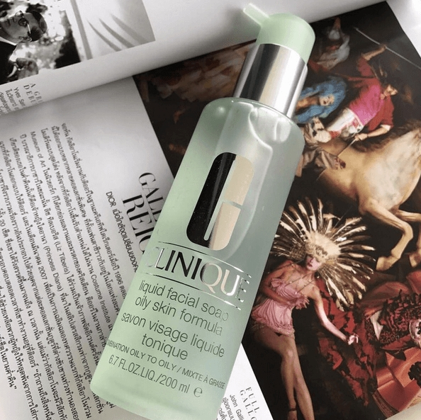 clinique liquid facial soap oily