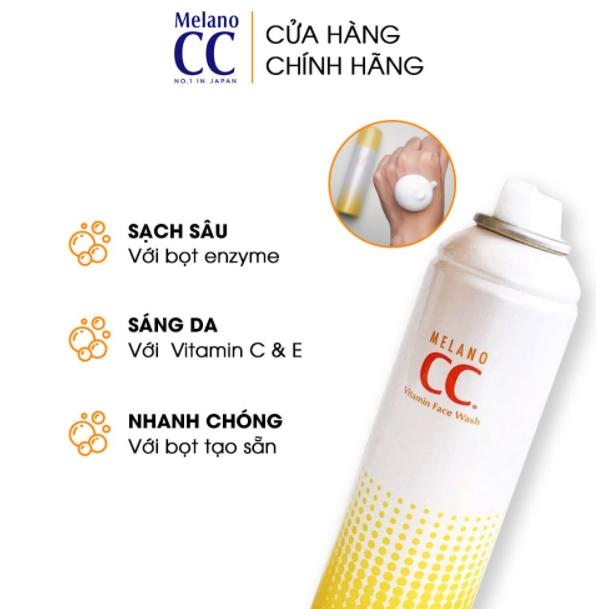 melano cc face wash